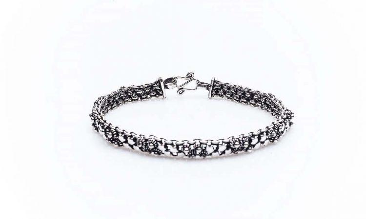 Сребърна гривна КН-0202000210