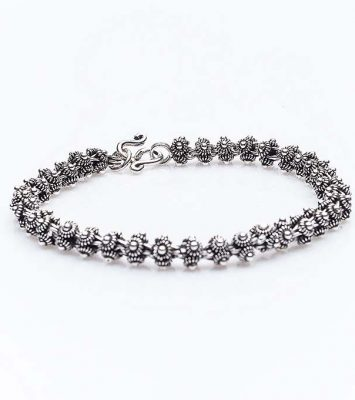 Сребърна гривна КН-0202000211