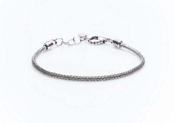 Сребърна гривна КН-0202000213