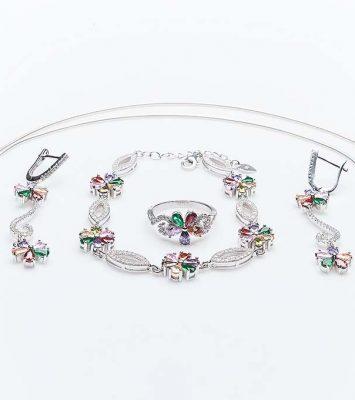 Сребърен комплект КН-0205000287