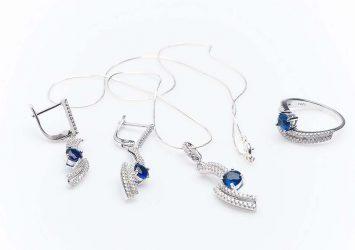 Сребърен комплект КН-0205000288