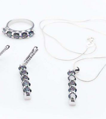 Сребърен комплект КН0205000289