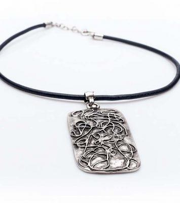 Посребрен медальон КН-0301002010
