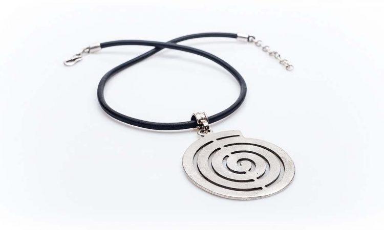Посребрен медальон КН-0301002012