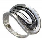 Сребърен пръстен фиба 031R