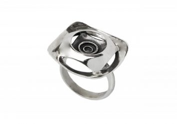 Сребърен пръстен 1158R