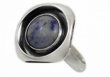 Сребърен пръстен Дендрит 1230R-4
