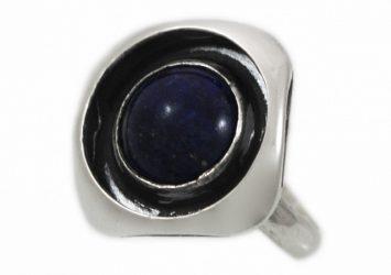 Сребърен пръстен Лазурит 1230R-3