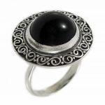 Сребърен пръстен с естествен камък 1249R