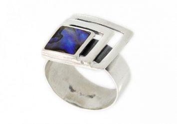 Сребърен пръстен Седеф 1281R