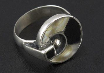 Сребърен пръстен R23