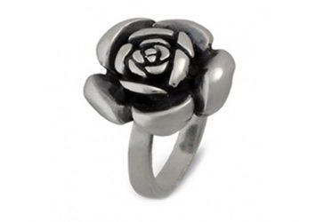 """Сребърен пръстен """"Роза"""""""