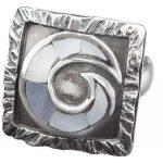Сребърен пръстен R70