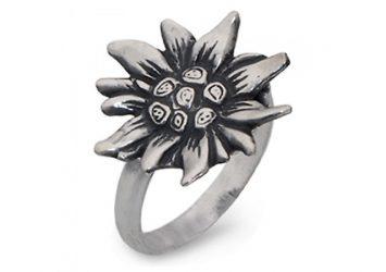 """Сребърен пръстен """"Слънчоглед"""""""