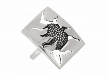 Сребърен пръстен 895R