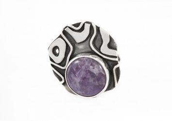 Сребърен пръстен AgSR143