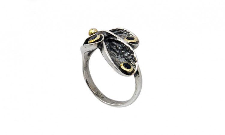 Сребърен пръстен Халцедон ipRS30