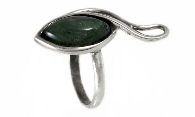 Сребърен пръстен Тингуаит R128K