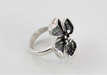 Сребърен пръстен R2074