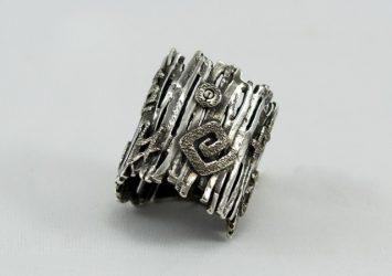 Сребърен пръстен R17