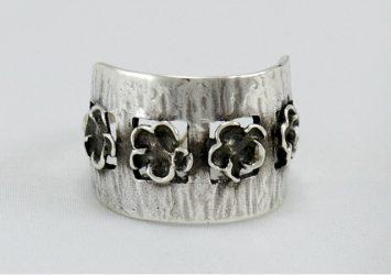 Сребърен пръстен R100