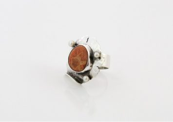 Сребърен пръстен - уникат oaR0011