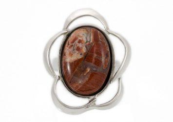 Сребърен пръстен Яспис ssRS14