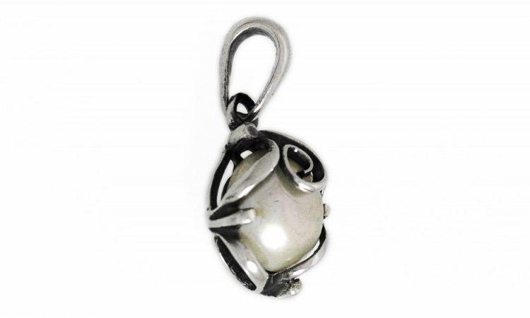 Сребърна висулка перла 1120M