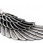 Сребърна висулка Крило 27A