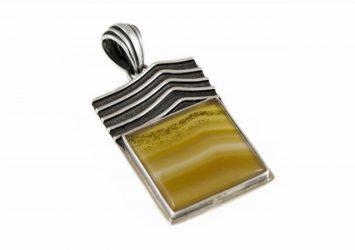 Сребърен медальон AgSM014