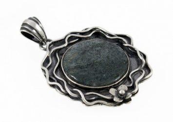 Сребърен медальон AgSM030