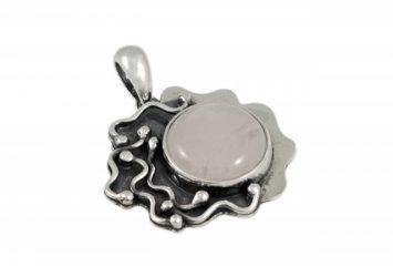 Сребърен медальон AgSM074