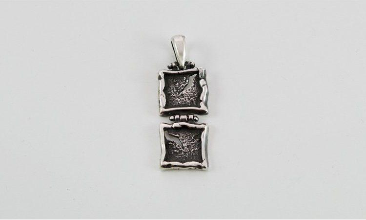 Сребърен медальон 584M