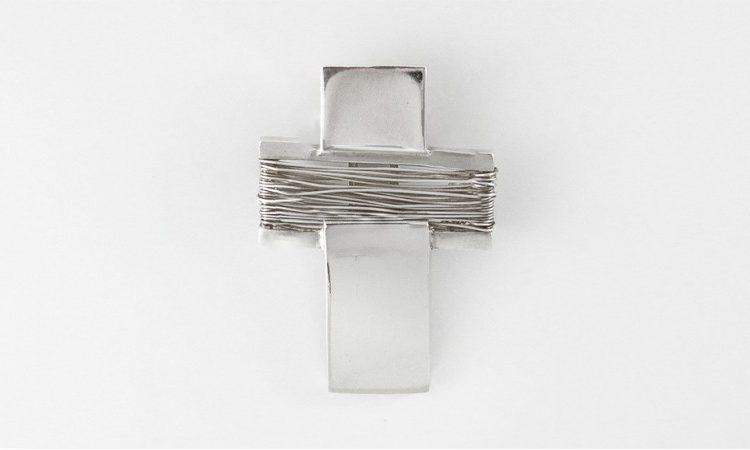 Сребърен кръст 486-2M