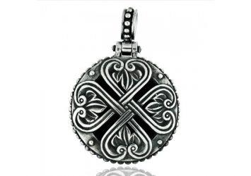 Сребърен медальон PCHR01CT