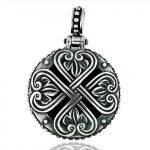 Сребърен медальон PCHR01GR
