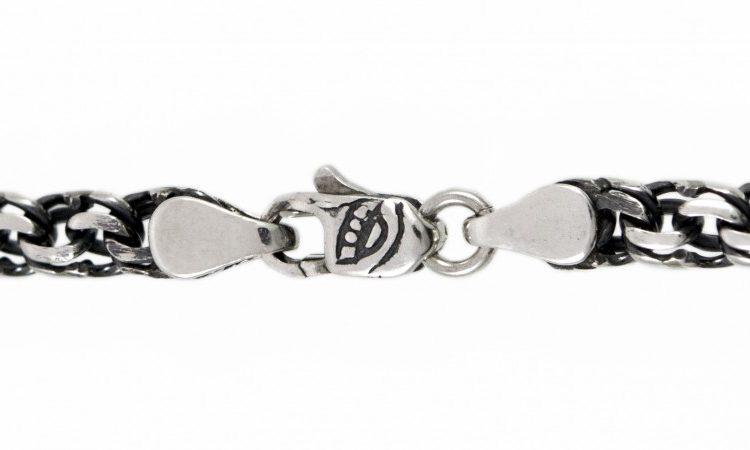 Сребърна гривна 009B
