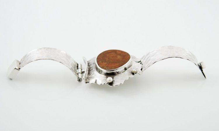 Сребърна гривна - уникат oaB0011
