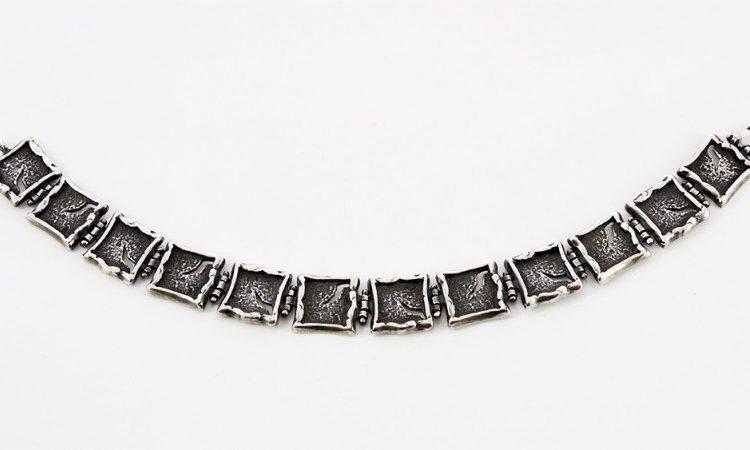Сребърна гривна 582B