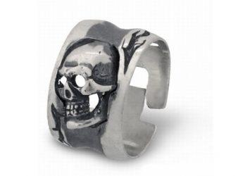 Мъжка сребърна халка 214R