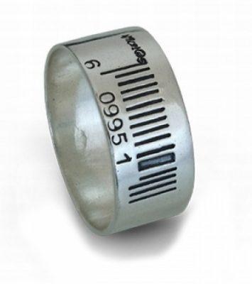 Мъжка сребърна халка 425R