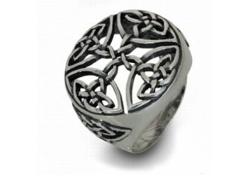 Мъжки сребърен пръстен 430R