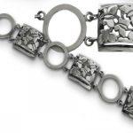 Сребърна гривна 478B