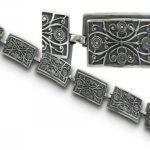 Сребърна гривна 489B