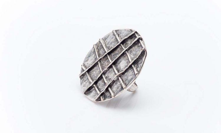 Посребрен пръстен КН0303004013
