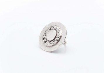 Посребрен пръстен КН0303004017