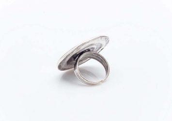 Посребрен пръстен КН0303004018