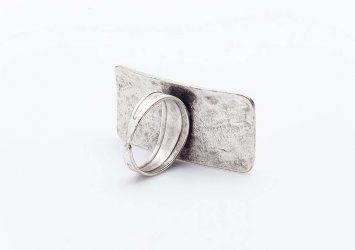 Посребрен пръстен КН0303004020
