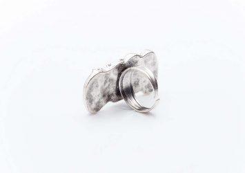 Посребрен пръстен КН0303004022