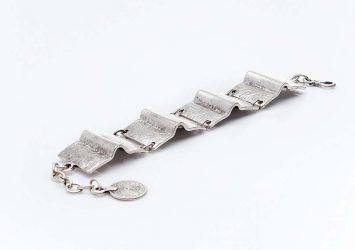 Посребрена гривна КН-0302003026
